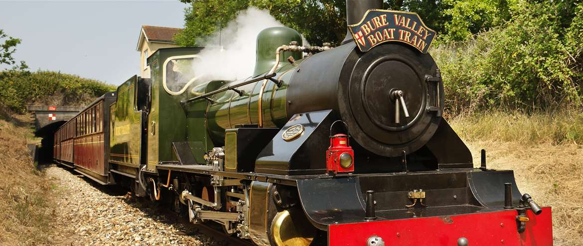 Bure Valley Railway - Steam adventures to the Norfolk Broads