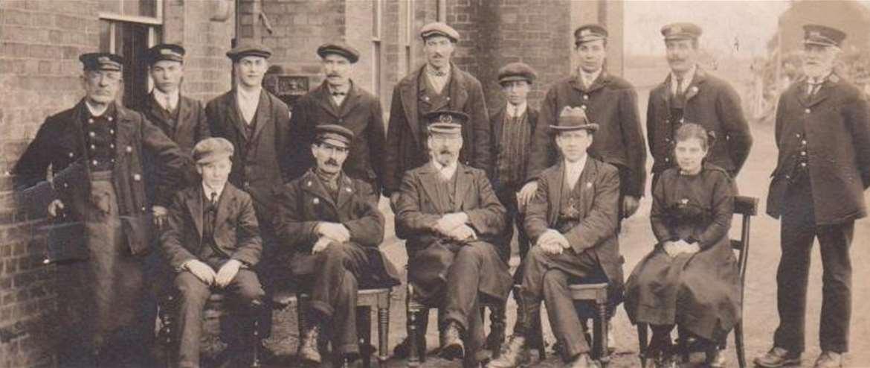 Bure Valley Railway Aylsham Norfolk Station Staff 1912