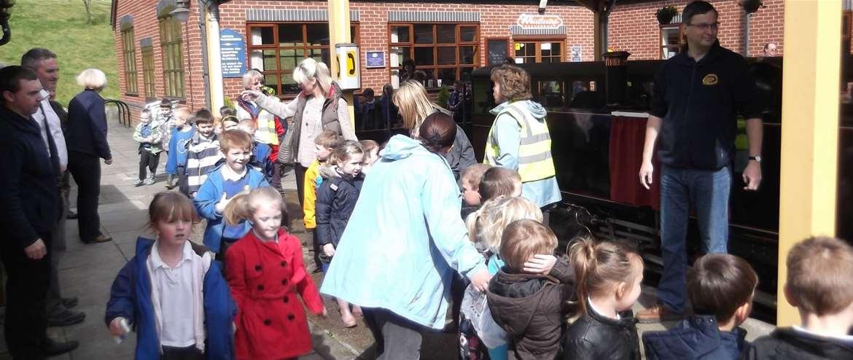 Bure Valley Railway School Visits Aylsham Norfolk