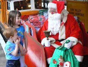 Steam Trains to Santa - December