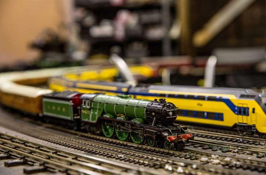 Minature trains