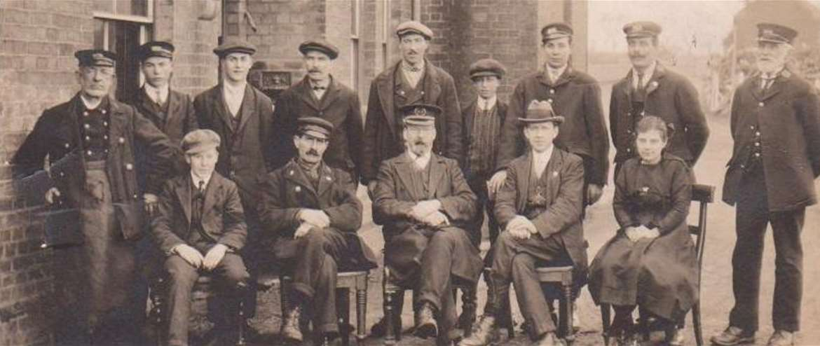 Bure Valley Railway Aylsham Norfolk Station Staff 1912