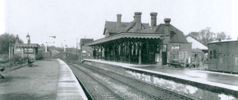 Bure Valley Railway Aylsham Station in LNER Days