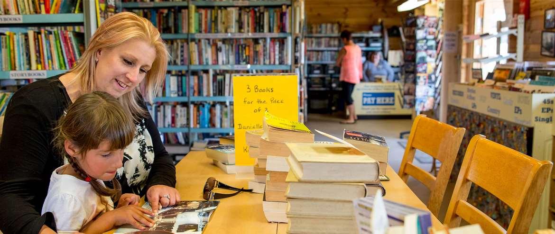 Bure Valley Railway Buffer stop books Wroxham Norfolk