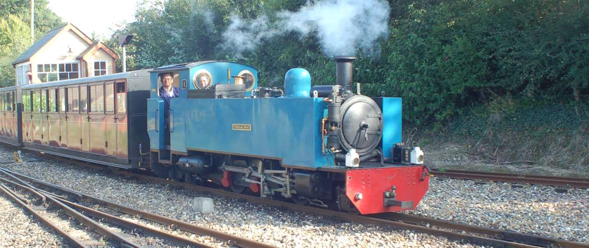 Bure Valley Railway Locomotive No.1 Aylsham Norfolk