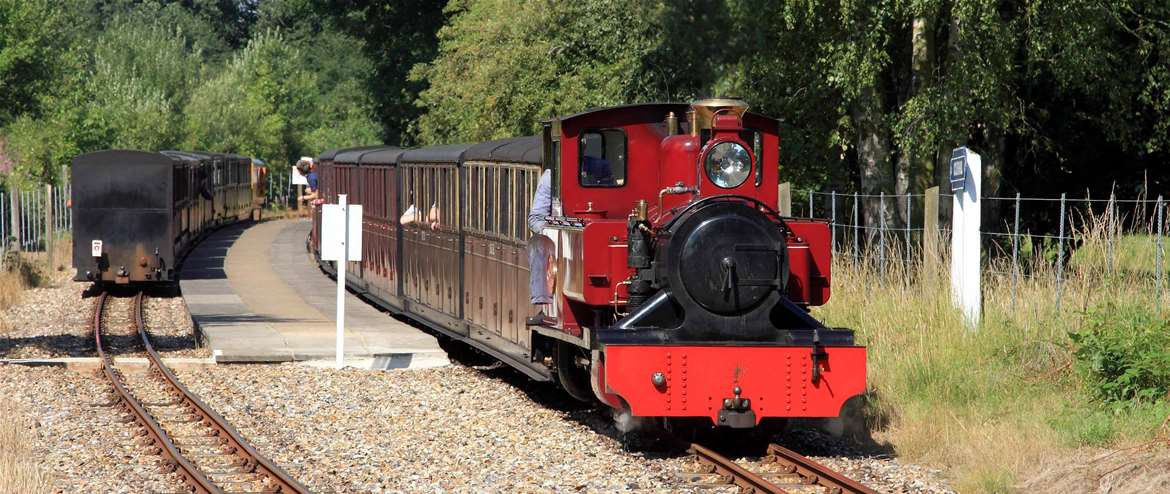 Bure Valley Railway Train Coltishall Norfolk