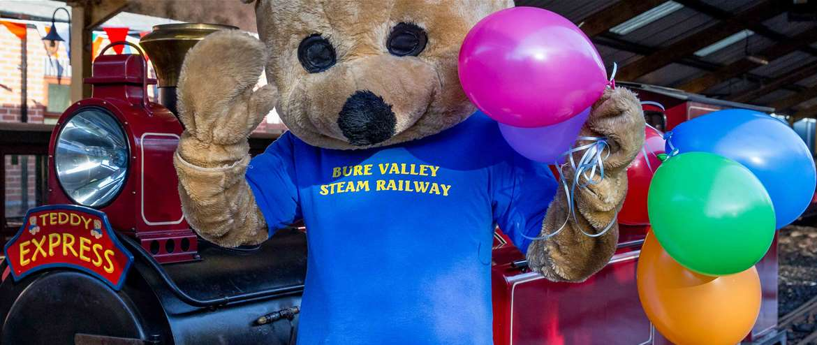 Family fun days out by steam train   Bure Valley Railway